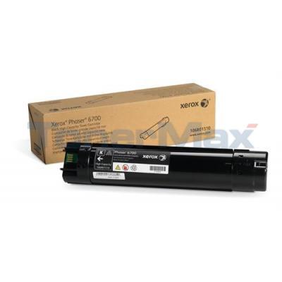 XEROX PHASER 6700 TONER CART BLACK 18K
